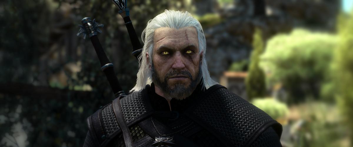 Geralt z Rivie ze hry Zaklínač