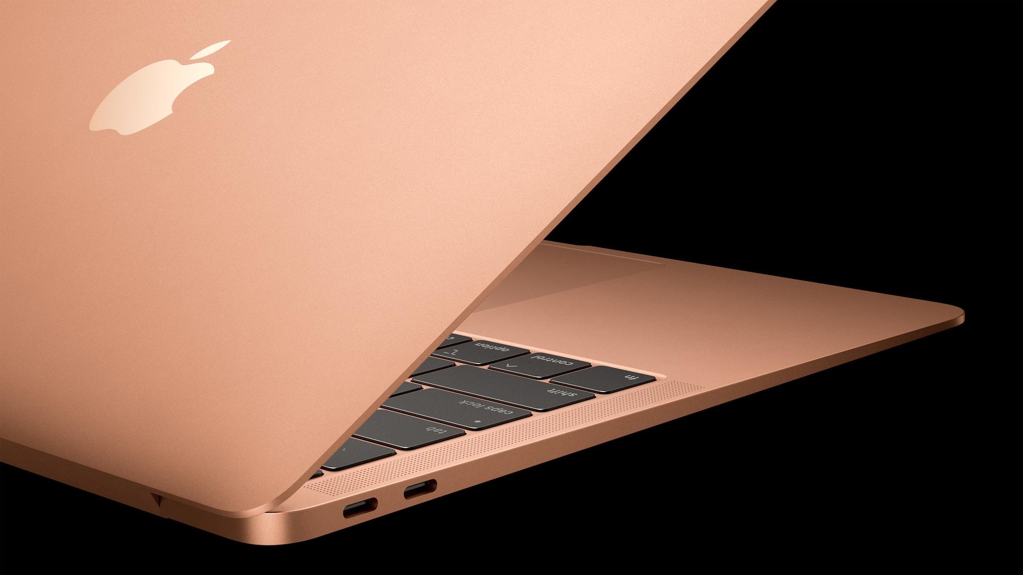 Nový MacBook Air má dva USB-C porty