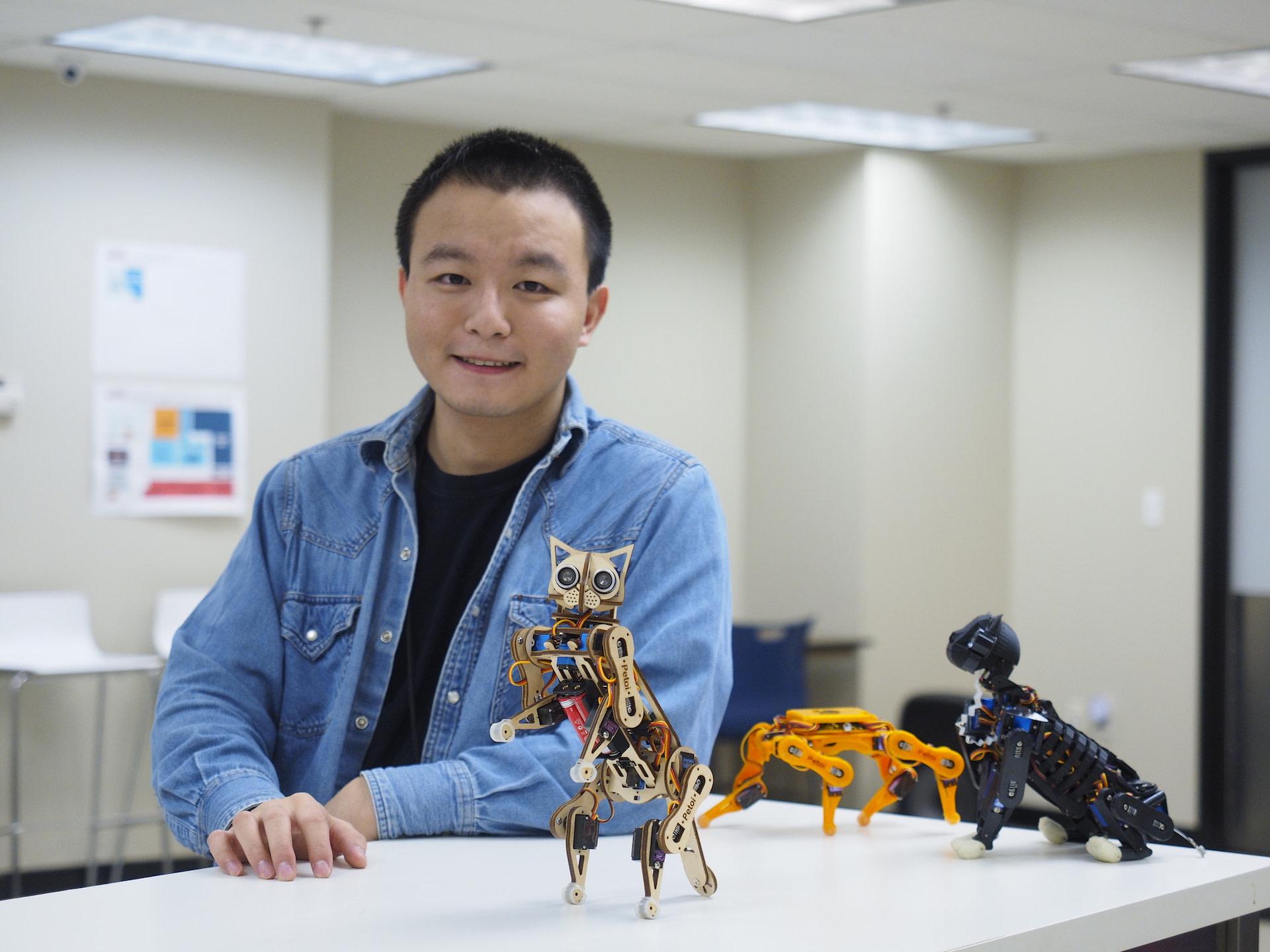 Zakladatel a CEO společnosti Petoi Rongzhong Li