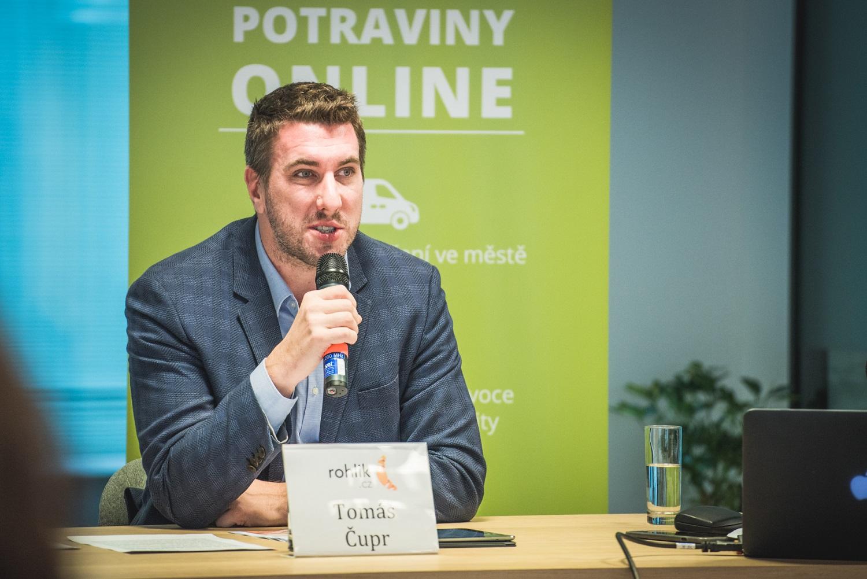 Tomáš Čupr, zakladatel a šéf Rohlik.cz