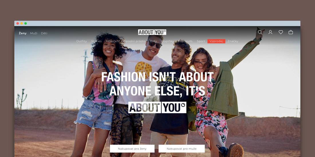 498ba5c81023 Do Česka vstupuje módní e-shop About You. Nabízí dopravu zdarma a vrácení  zboží do 100 dnů