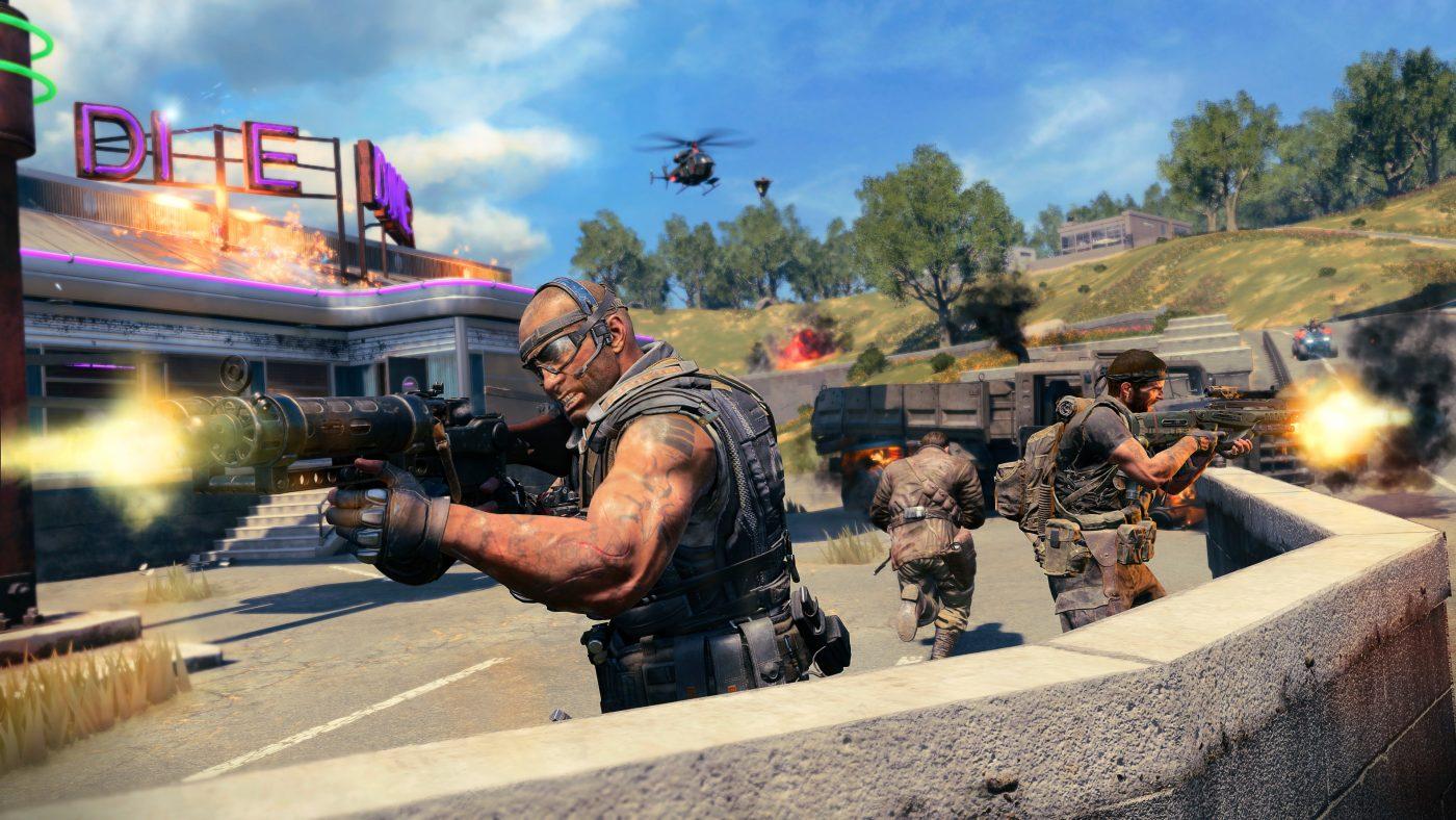 Záběr ze hry Call of Duty: Black Ops 4