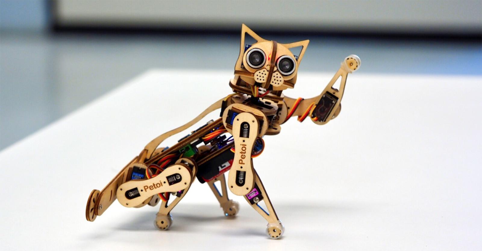 Robotická kočka Nybble