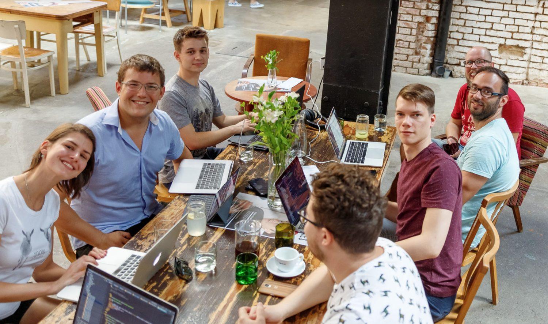 Část českého týmu DEVIX Technologies