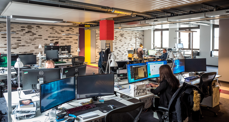 Berlínské kanceláře Epic Games