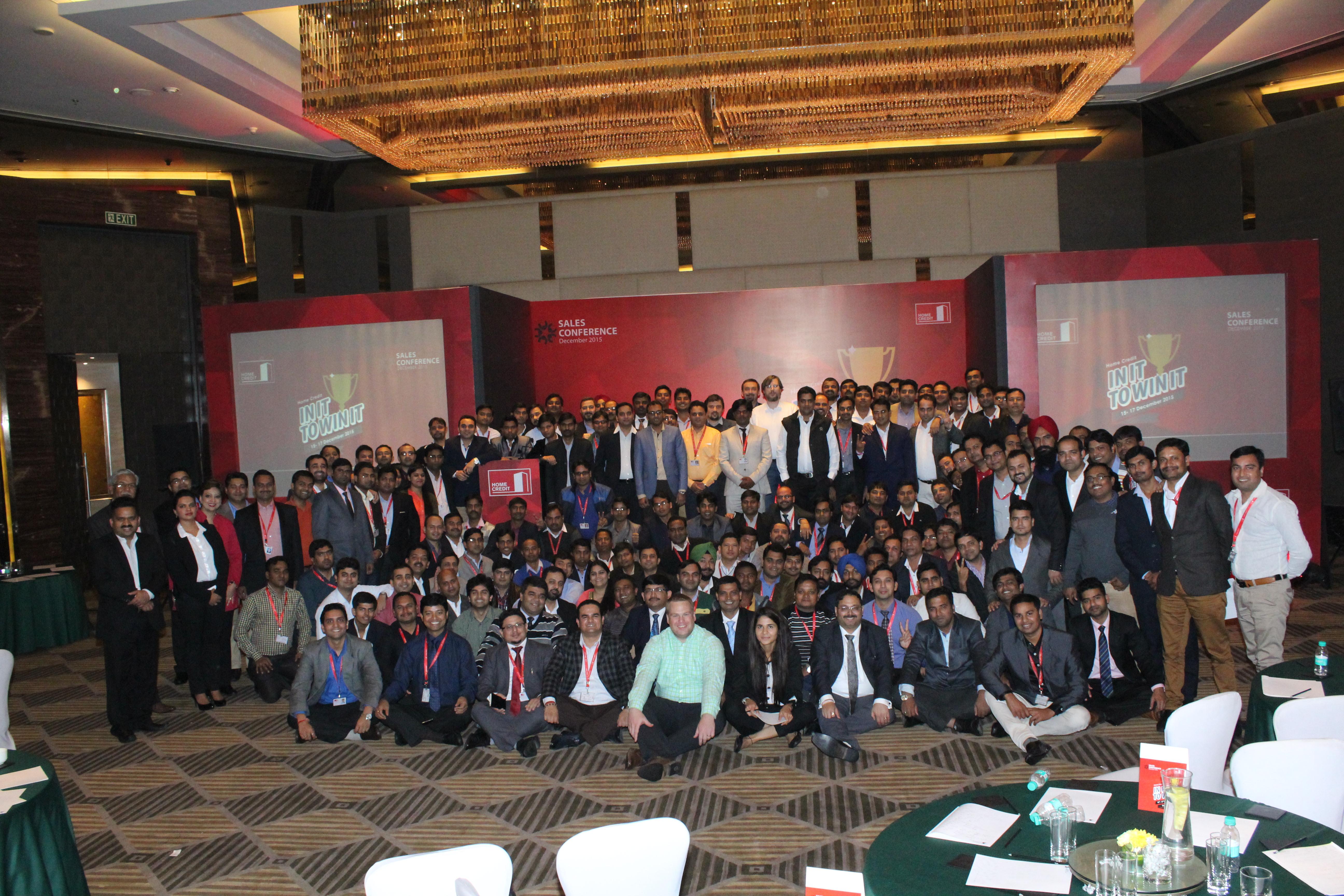 Vlastimil Hrabal na Sales Conference v Indii