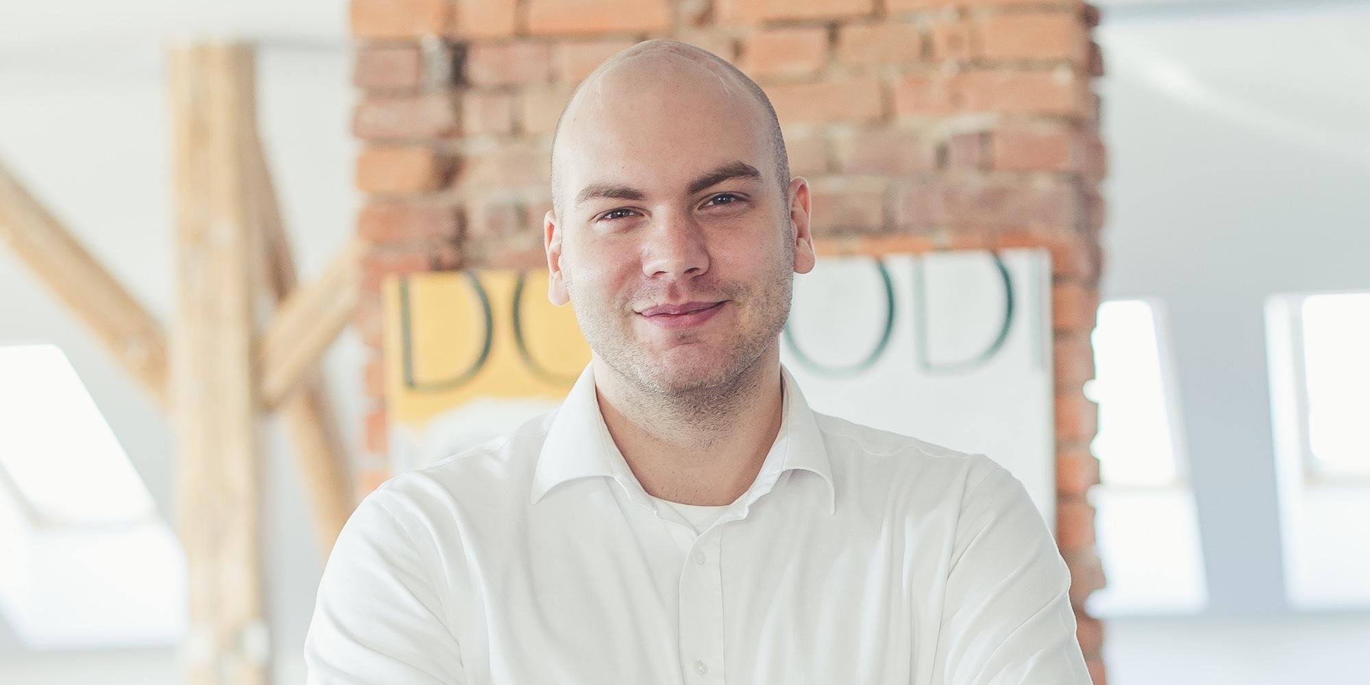 Jan Klusoň, CEO Proudly