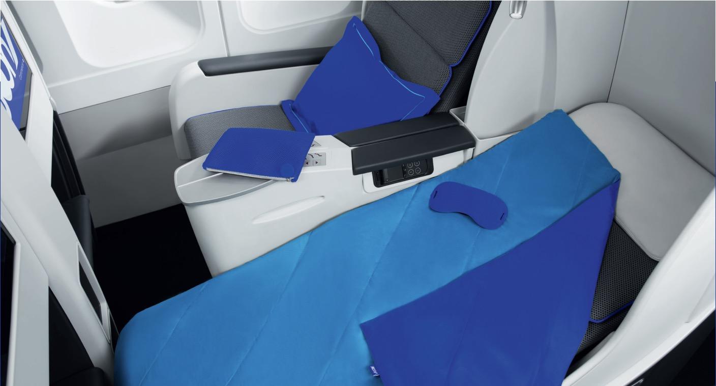 Business třída v letadlech Joon