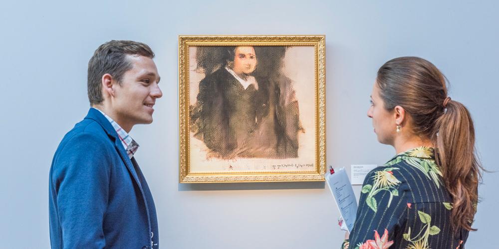 První historický obraz vytvořený umělou inteligencí se vydražil za téměř 10 milionů korun