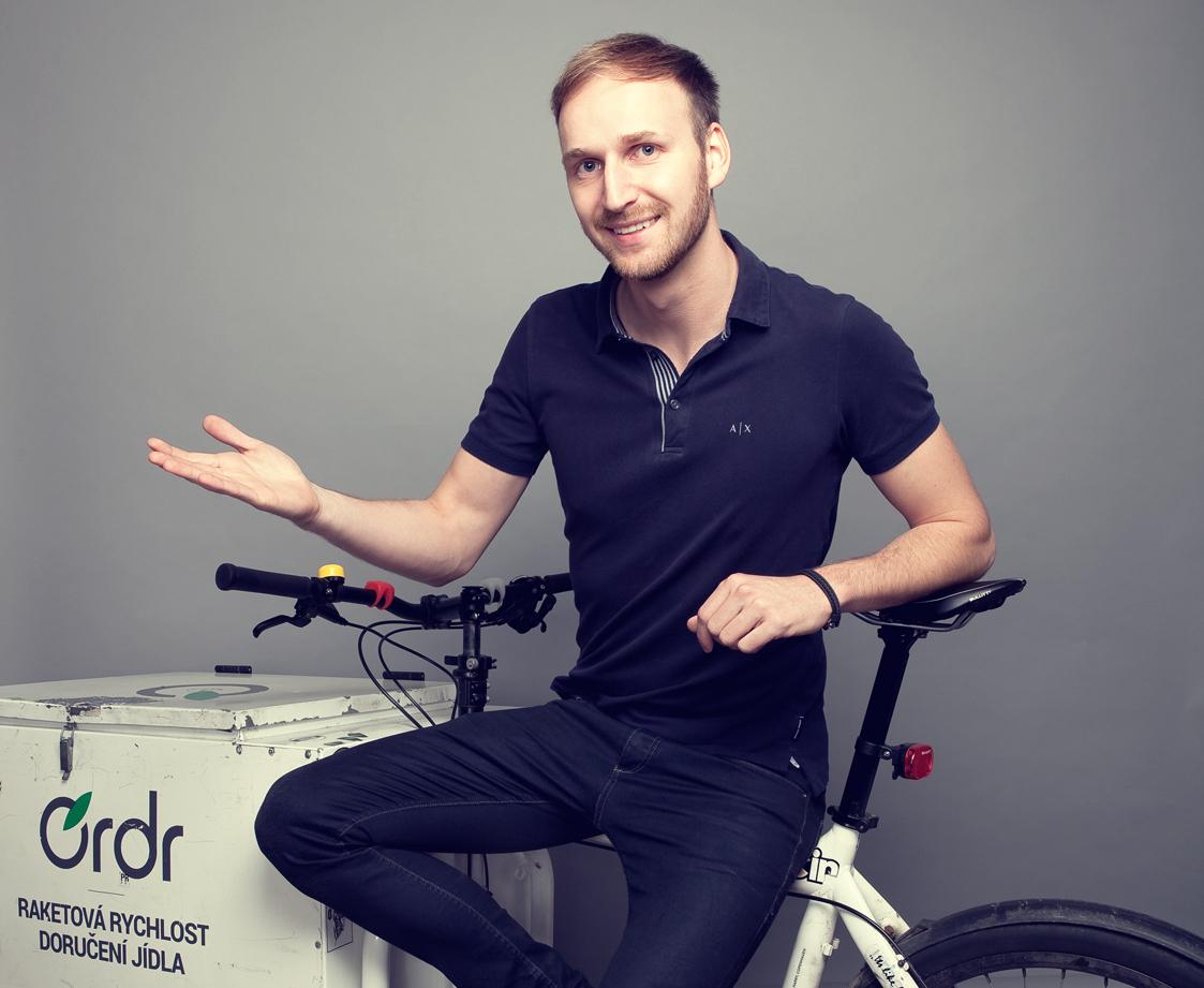 Petr Janoušek, Marketing & Catering Manager v Olive Food