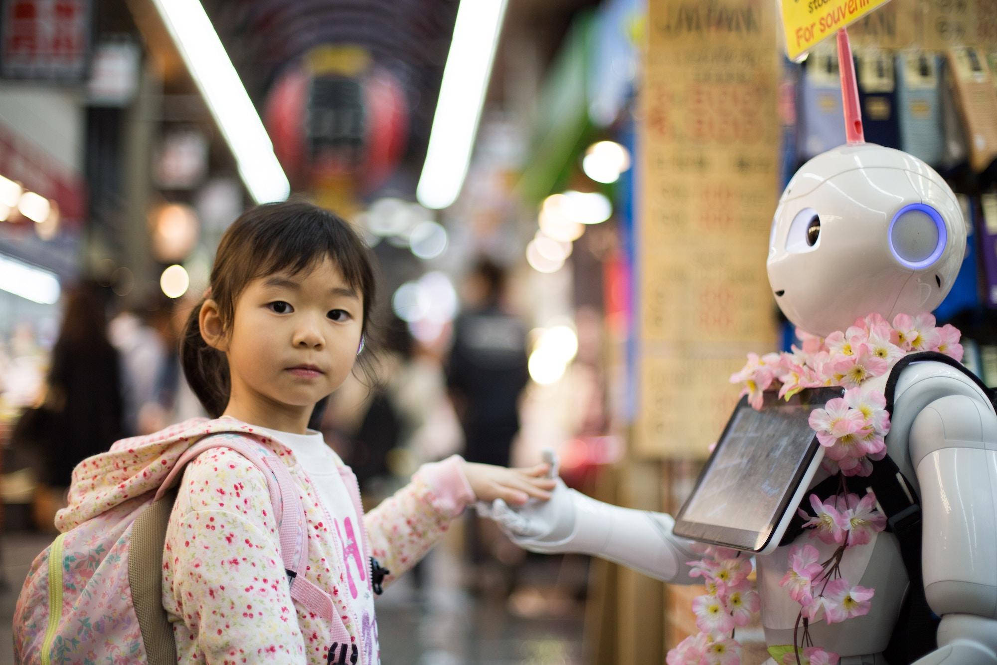 Budoucnost představuje stále častější interakce lidí s roboty
