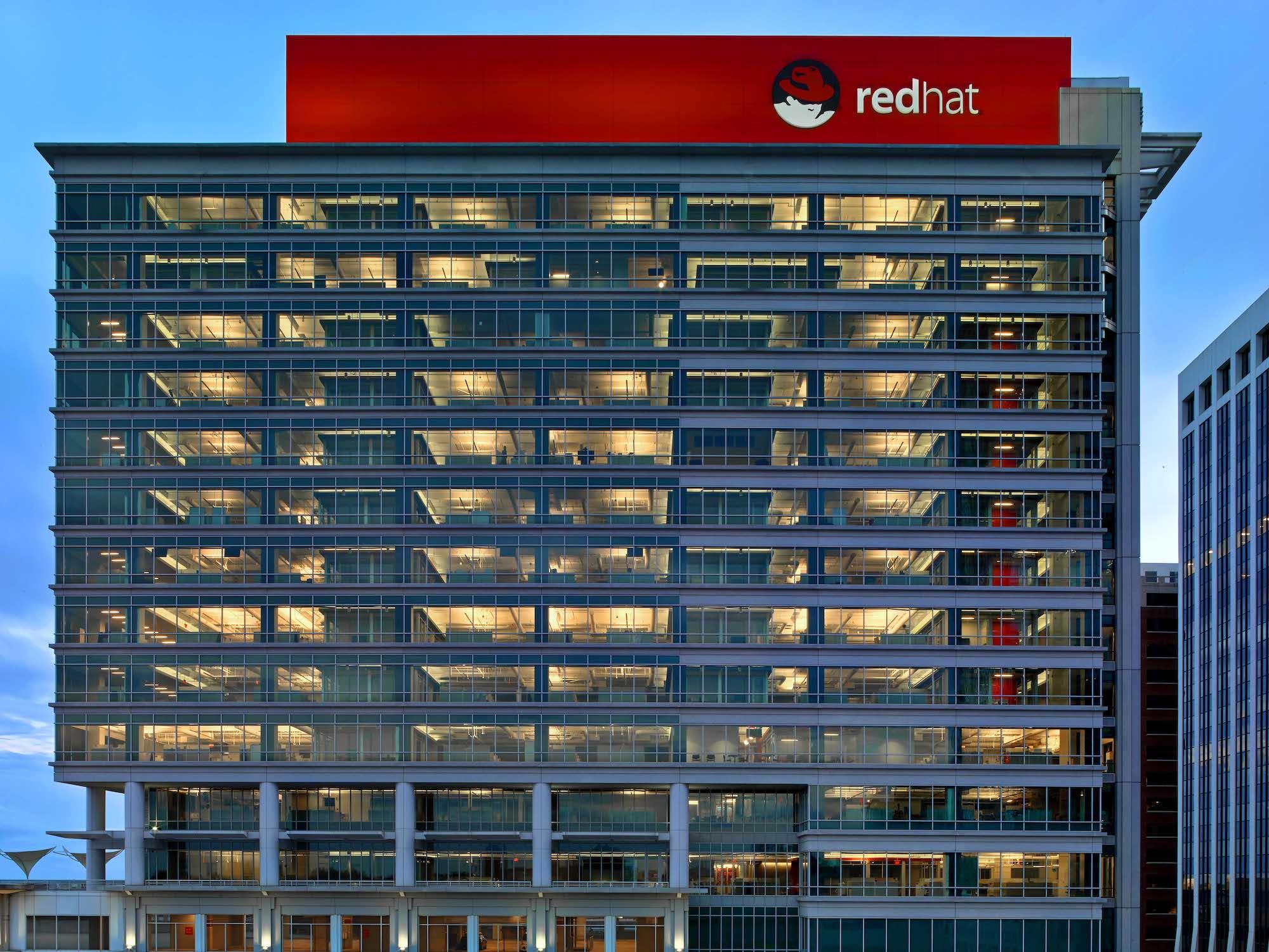 Red Hat Tower, sídlo Red Hatu v Severní Karolíně