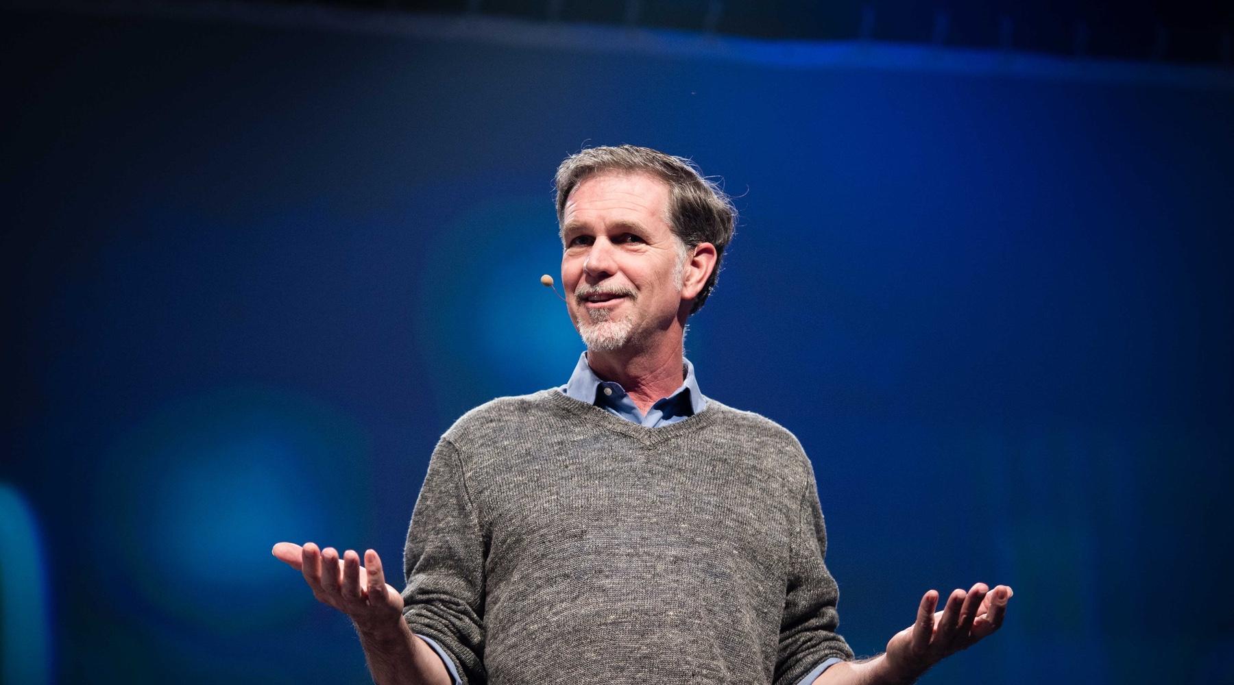 Reed Hastings, spoluzakladatel a šéf Netflixu
