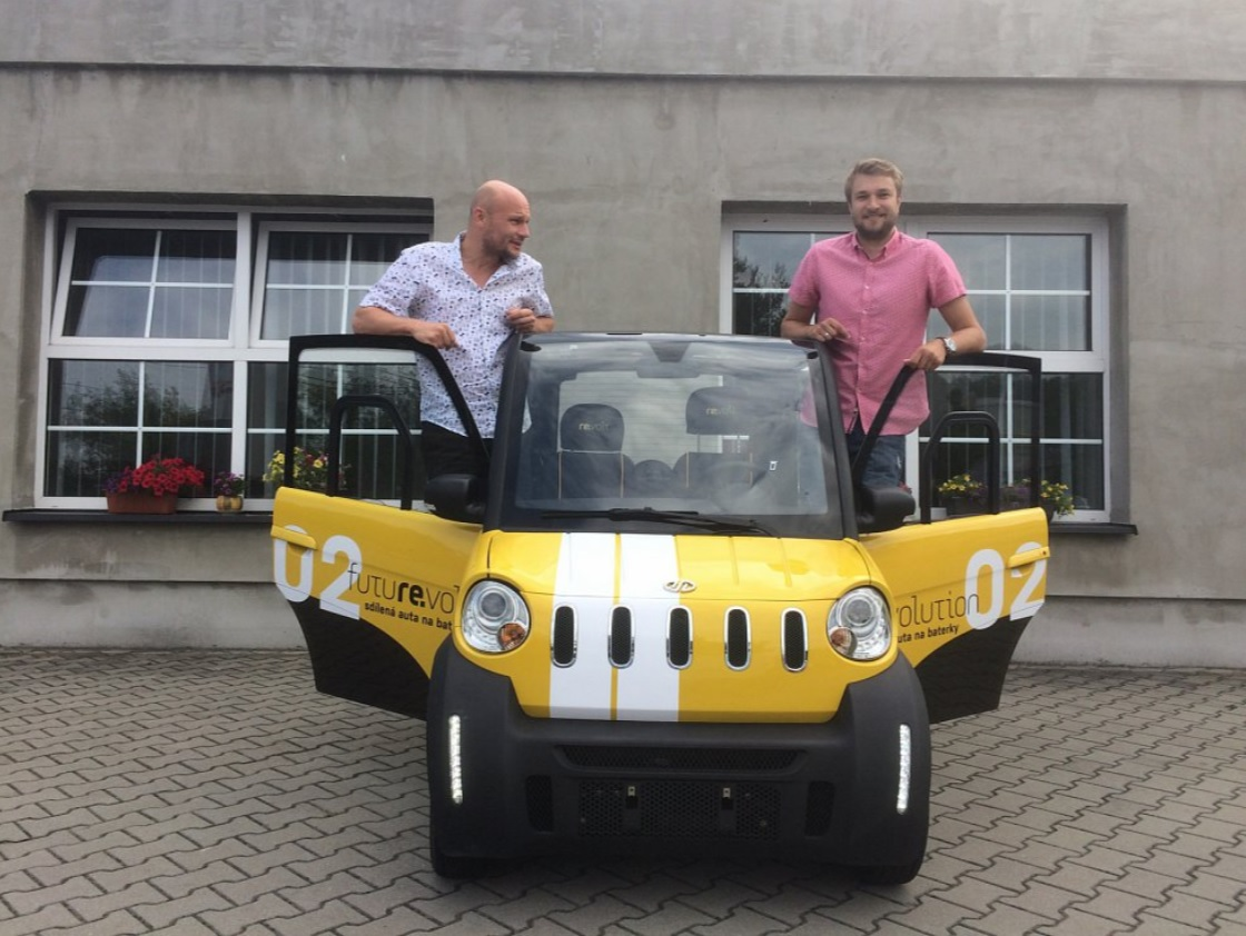 Martin Matoušek (CTO) a Pavel Kuchta (CEO) z Revoltu