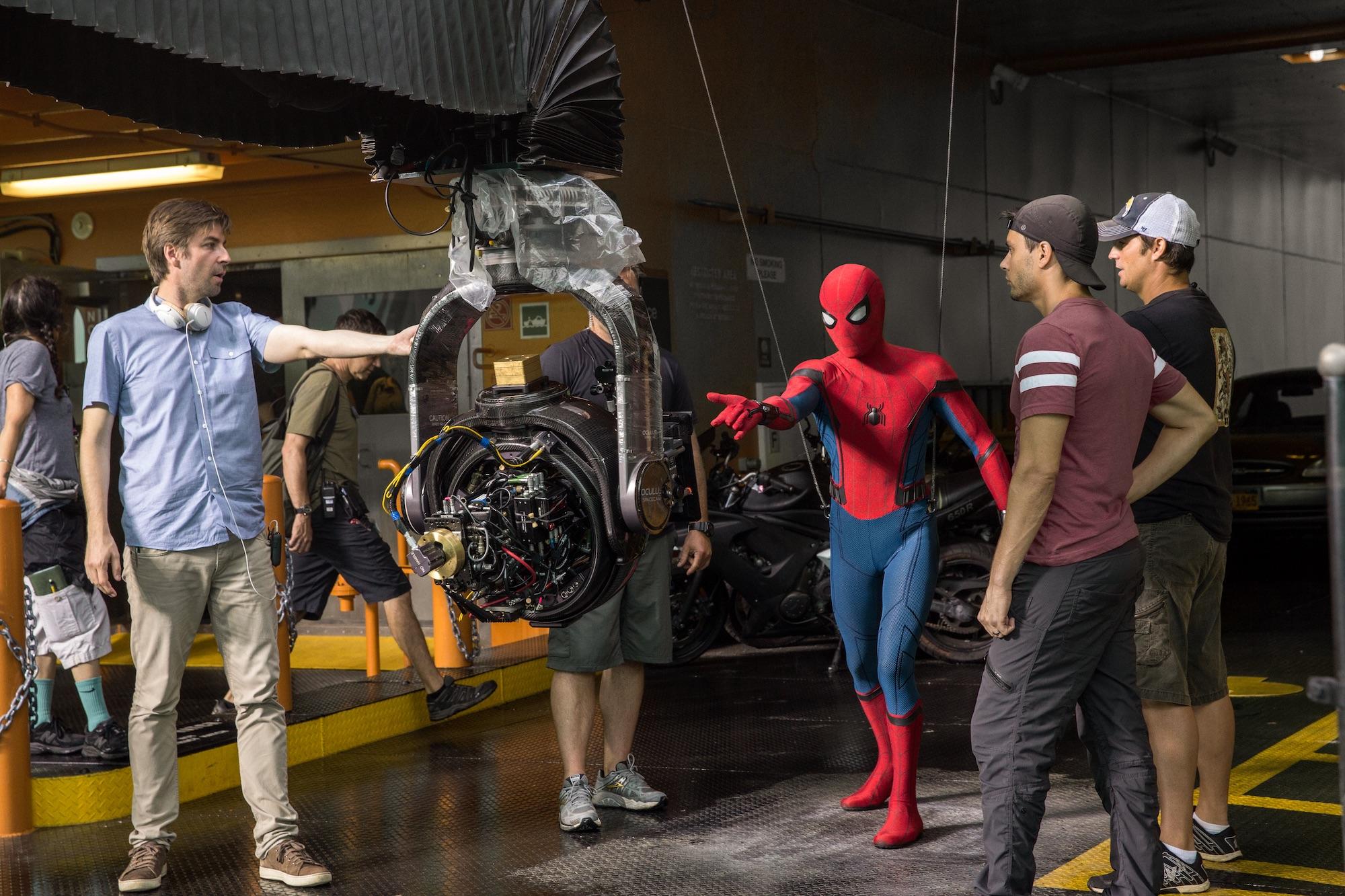 Natáčení předchozího filmu Spider-Man: Homecoming