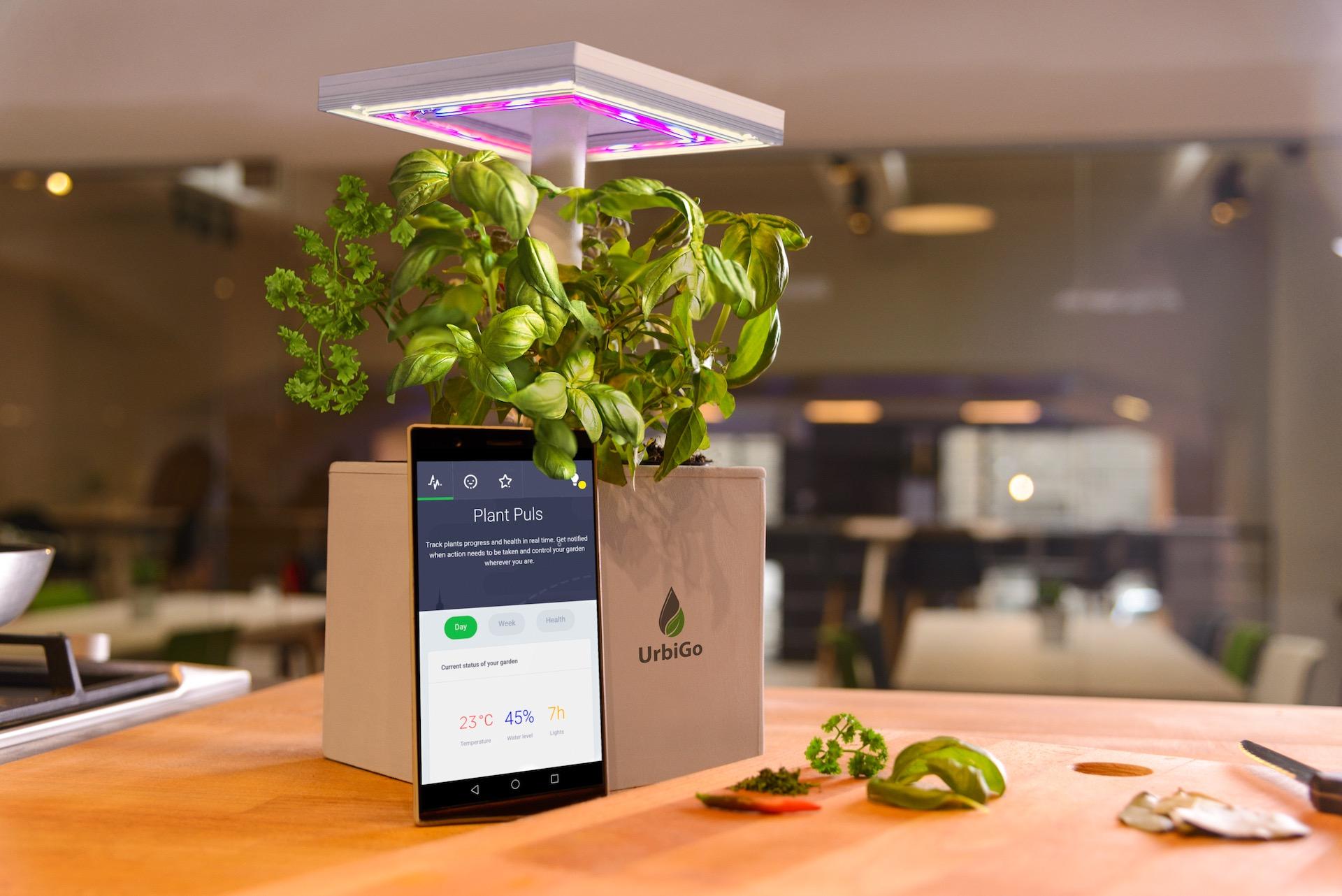 Pěstovatelský produkt srbského startupu UrbiGo