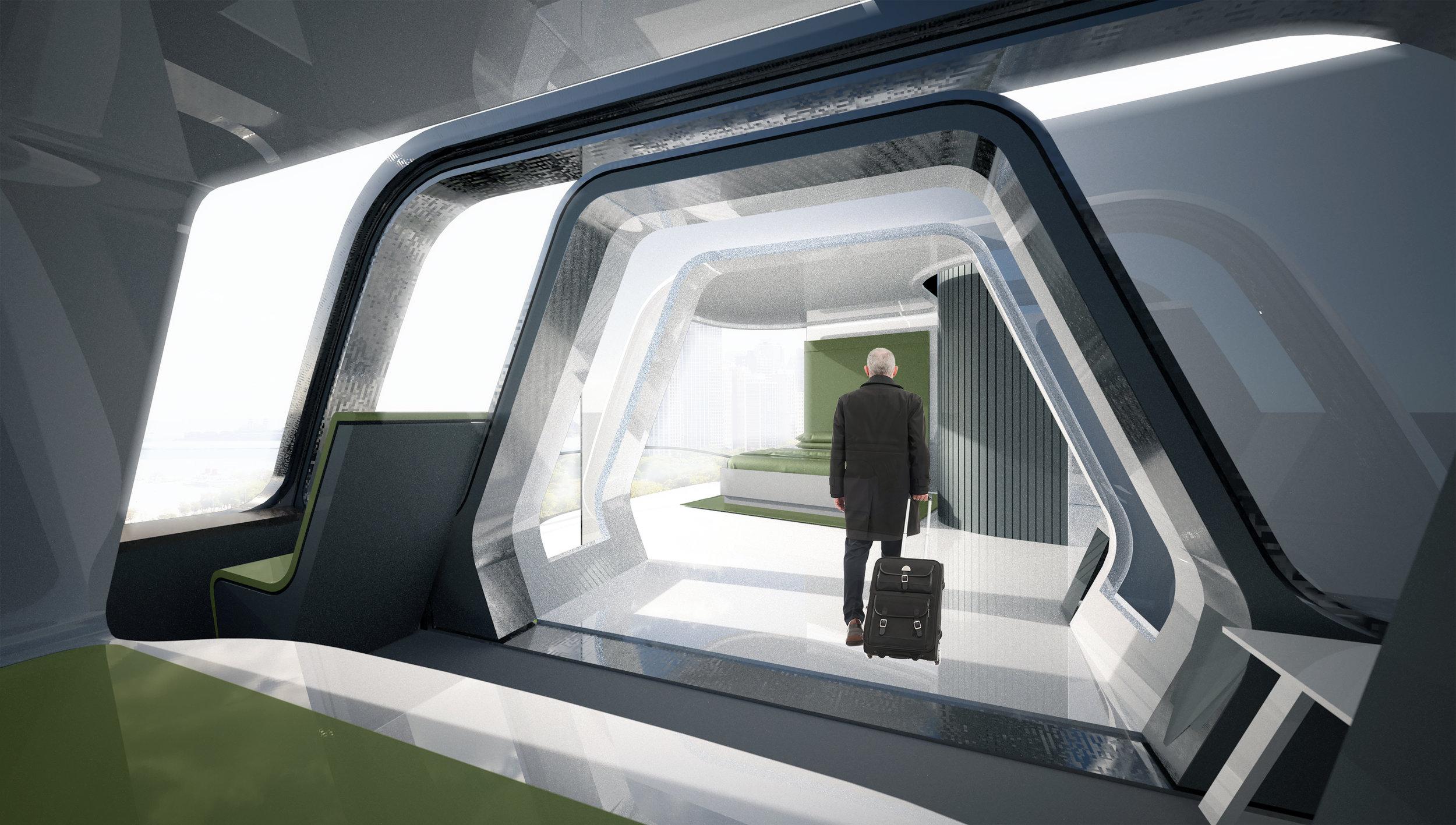 Takto by mohl vypadat interiér modulu ATS