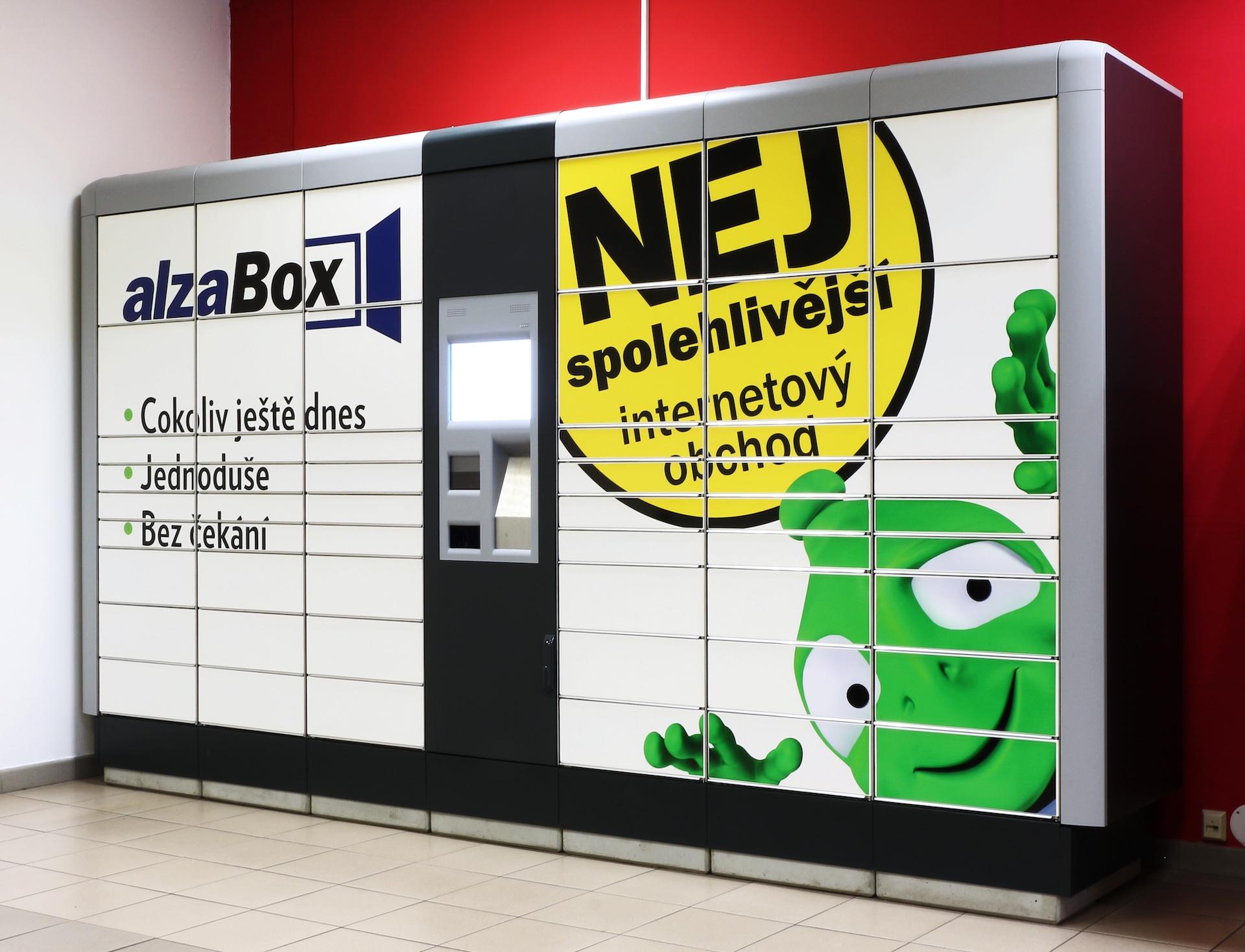 Zboží si lze nechat poslat také do AlzaBoxu