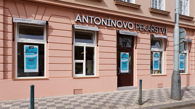 Antonínovo pekařství v Karlíně