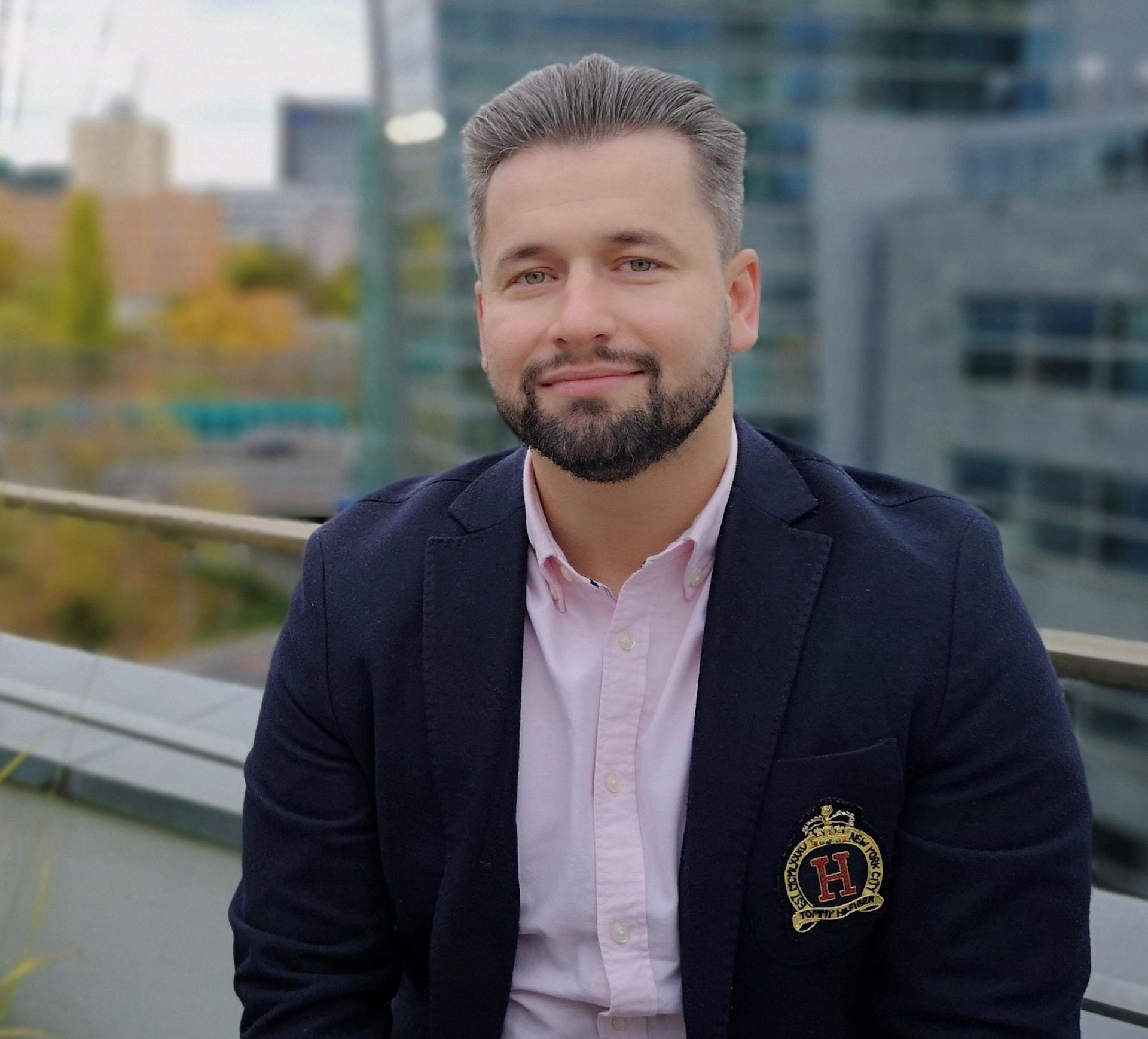 Jakub Komenda, vedoucí mobilního bankovnictví Monety