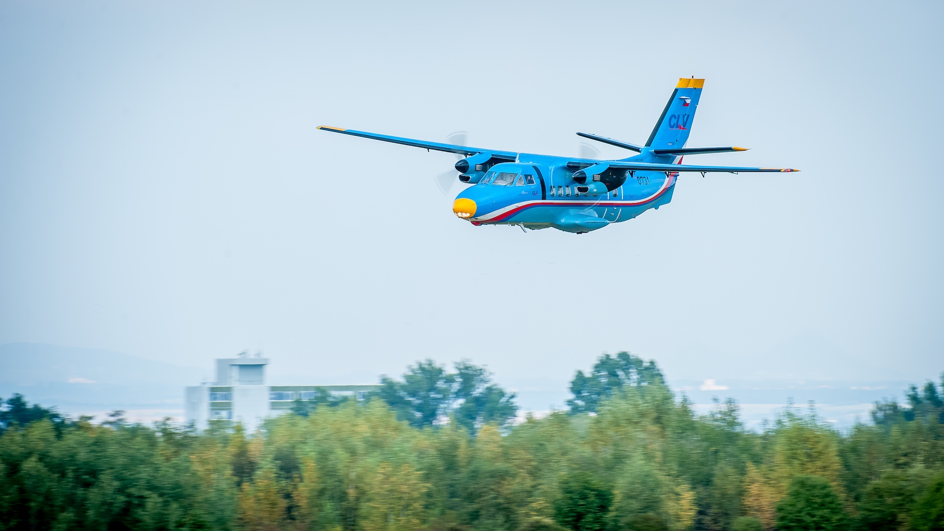 Český letoun Let L-410 Turbolet