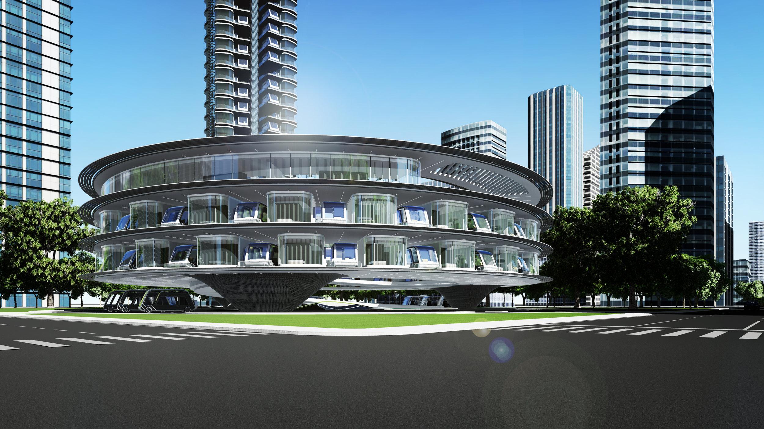Hotelové doky by sloužily i jako navigační a servisní centra