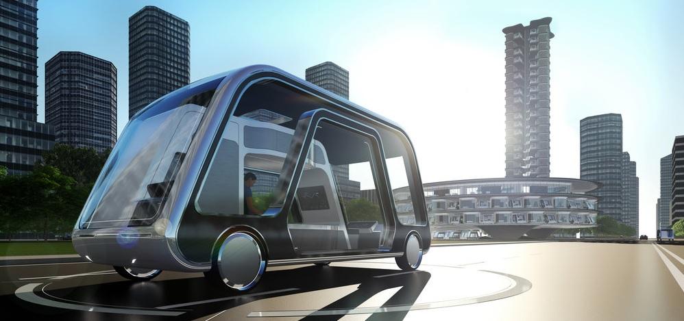 Moderní hotel na samořídících kolečkách. Americký architekt ukazuje budoucnost cestování