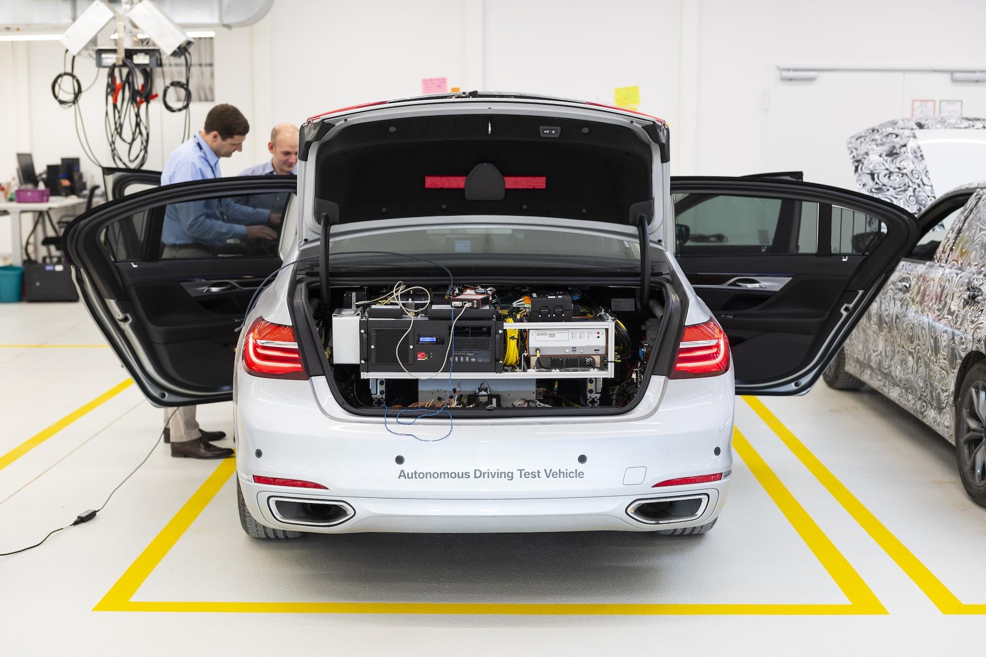 BMW už autonomní technologie testuje