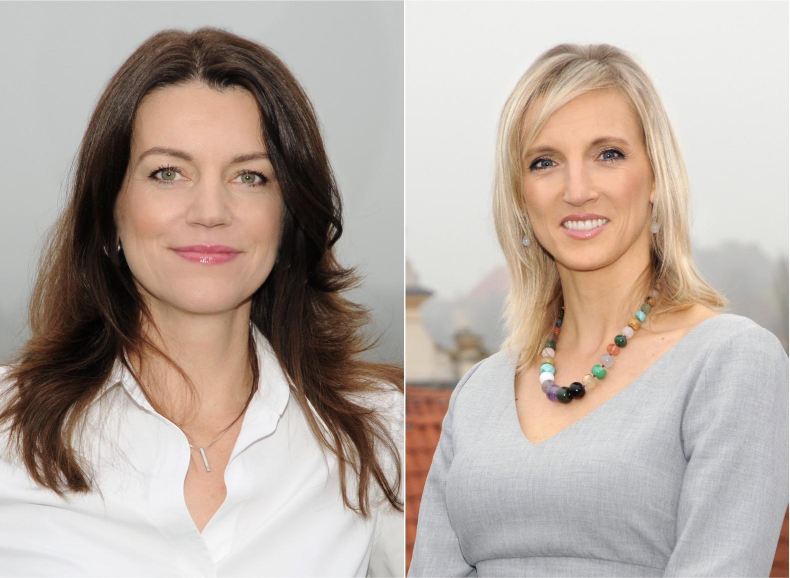 Andrea Ferancová Bartoňová a Emília Mamajová