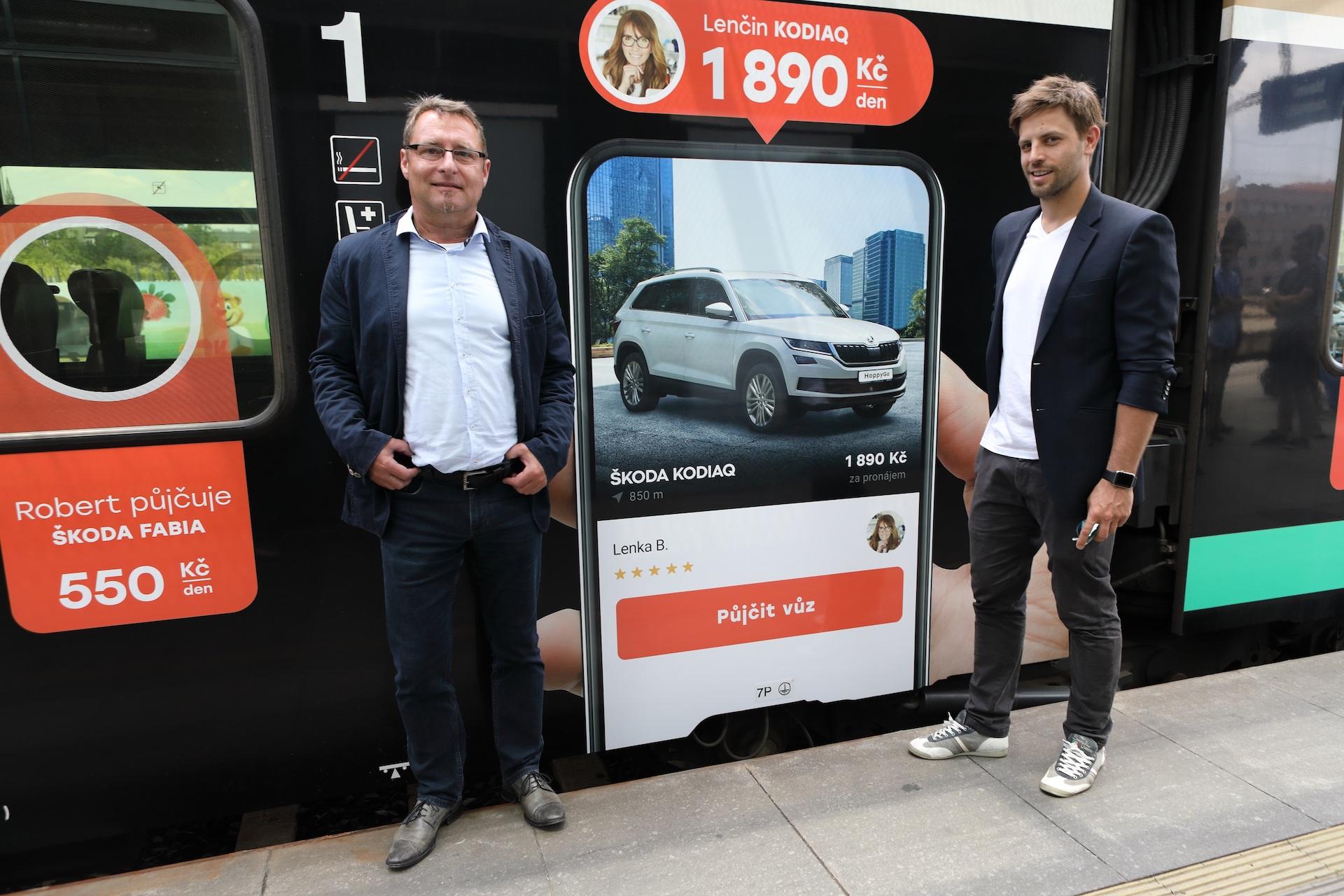 Petr Dörner, COO, a Jan Charouz, CEO HoppyGo
