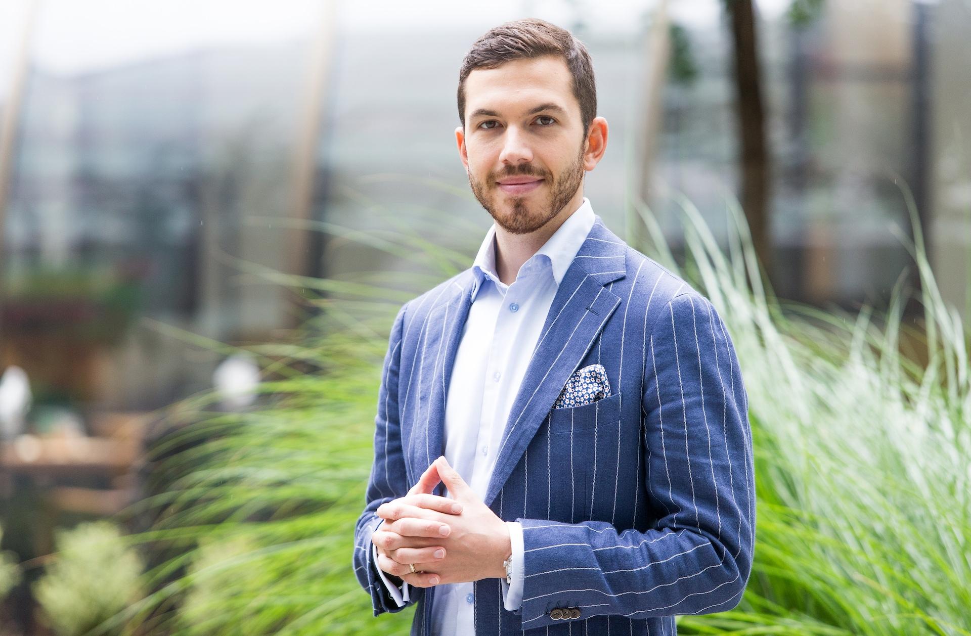 Michal Mička, majitel investiční společnosti C2H