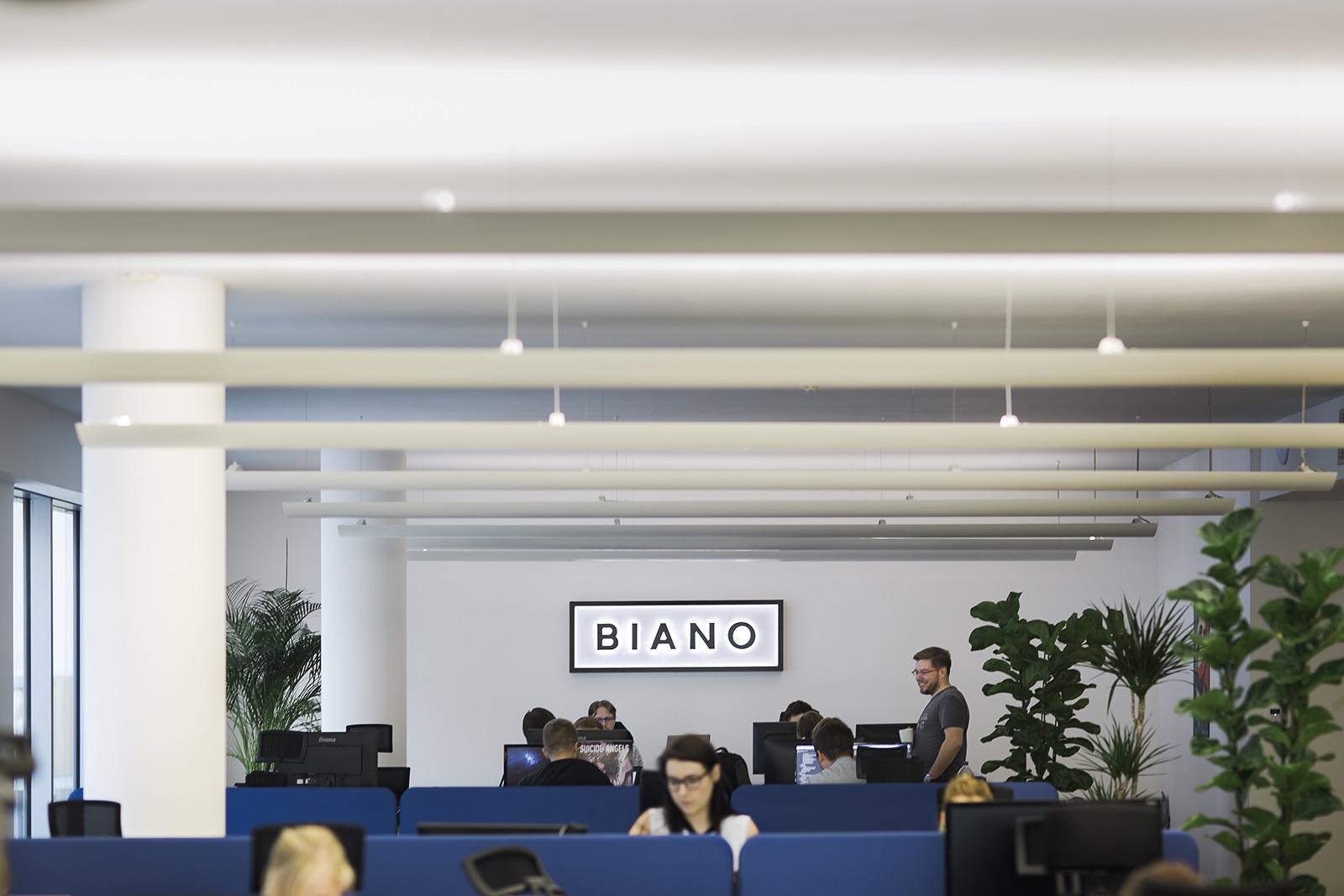 Kanceláře startupu Biano