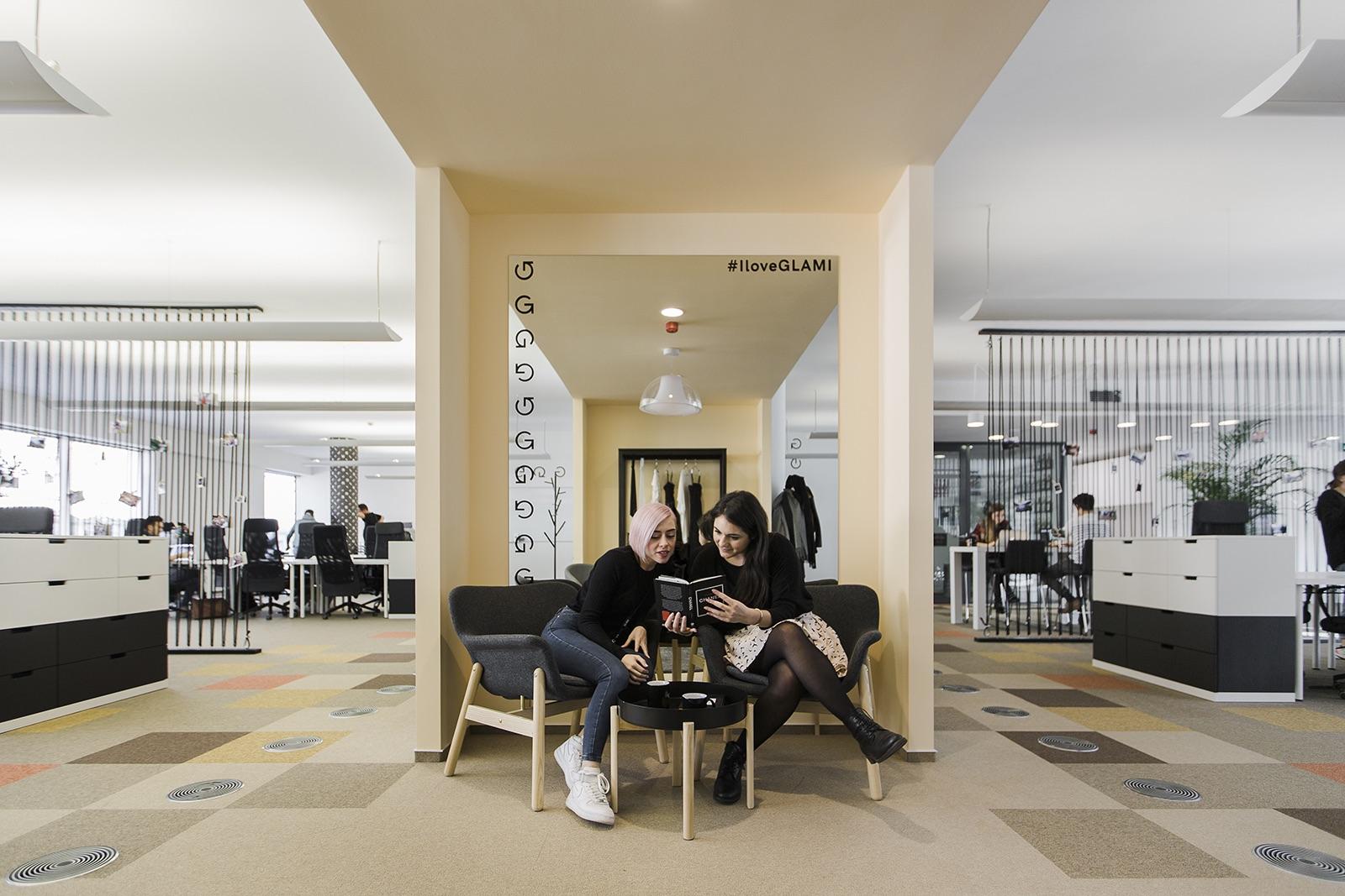 Kanceláře startupu Glami