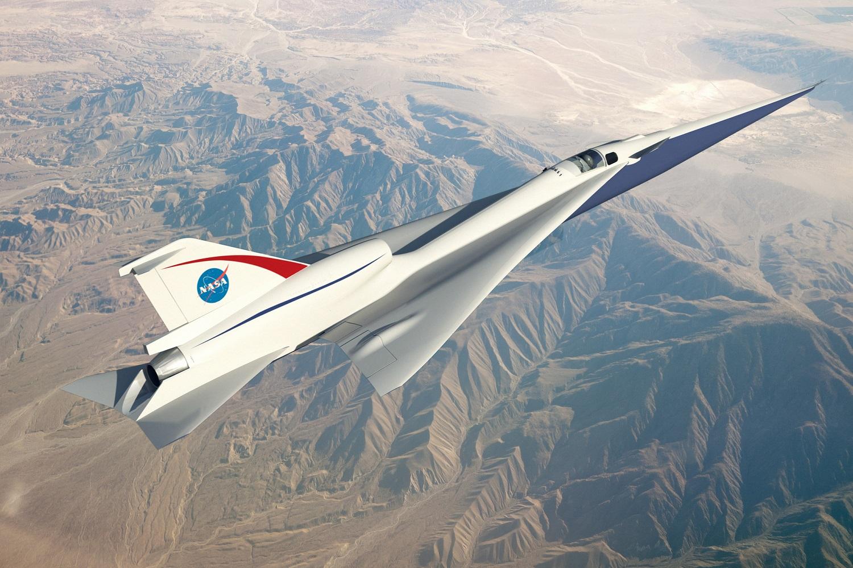 Podoba chystaného supersonického letounu X-59 QueSST