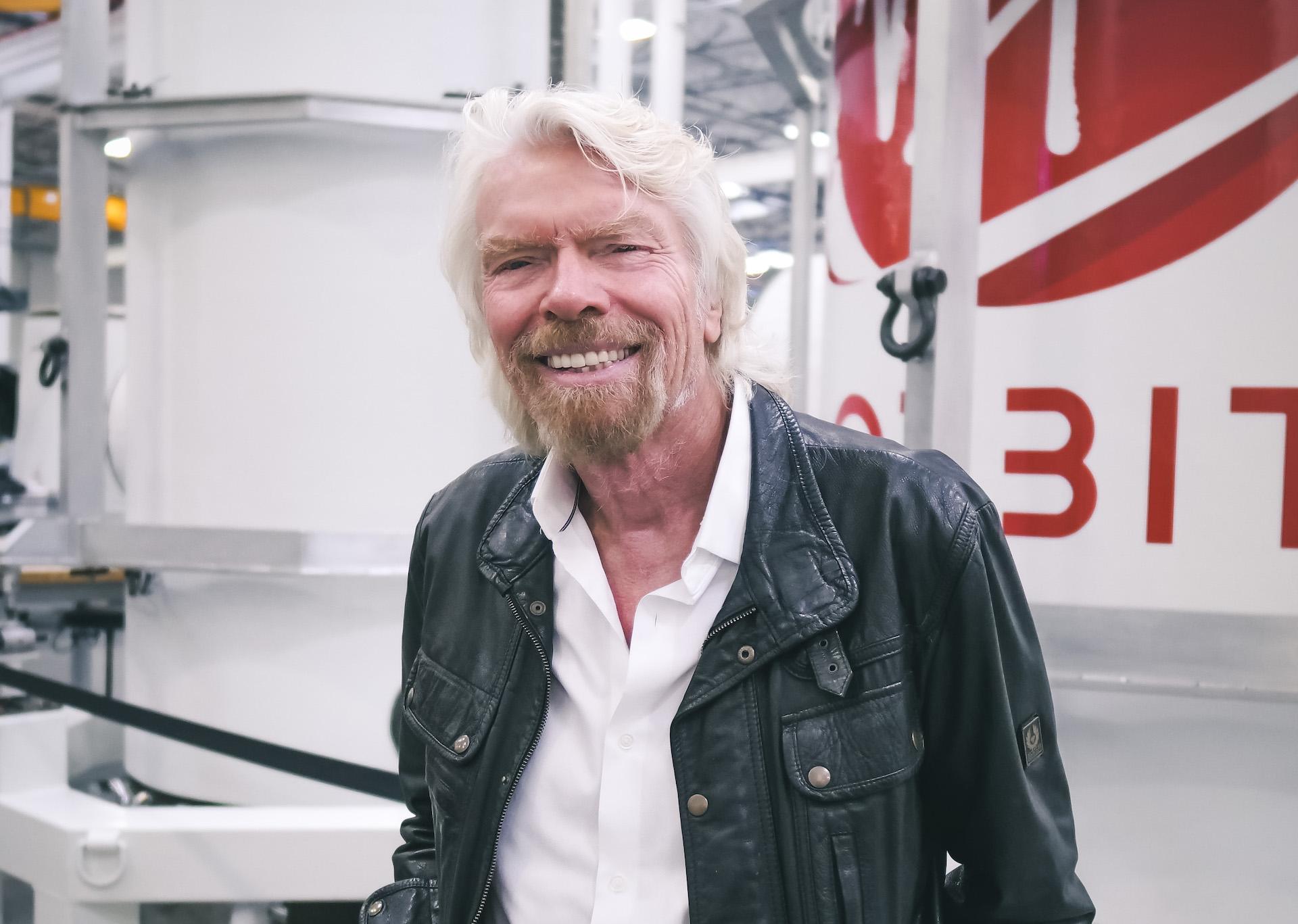 Majitel Virgin Orbit Richard Branson