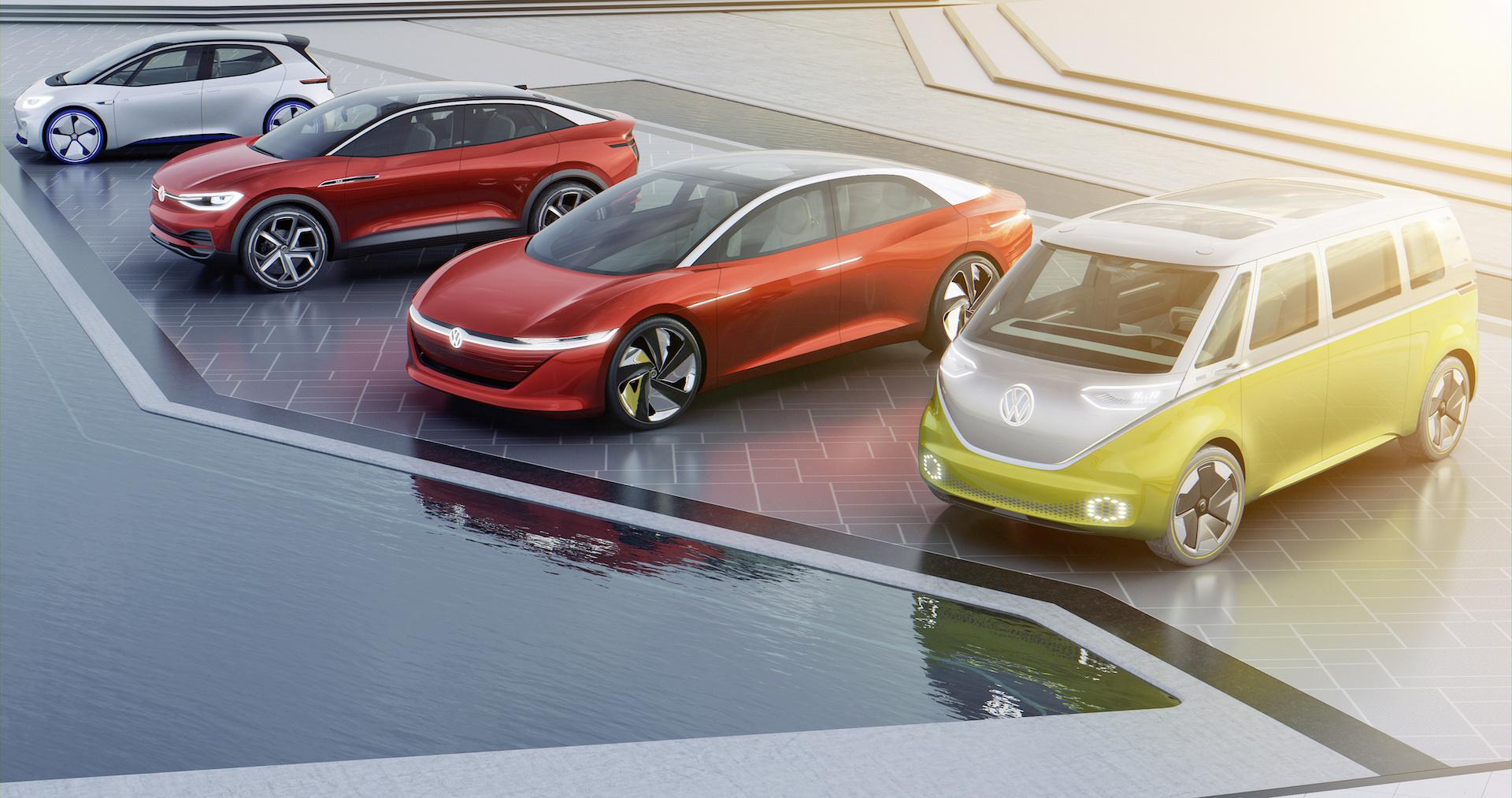 Rodina elektrických vozů Volkswagen ID