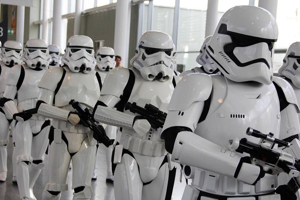 Star Wars rekvizity