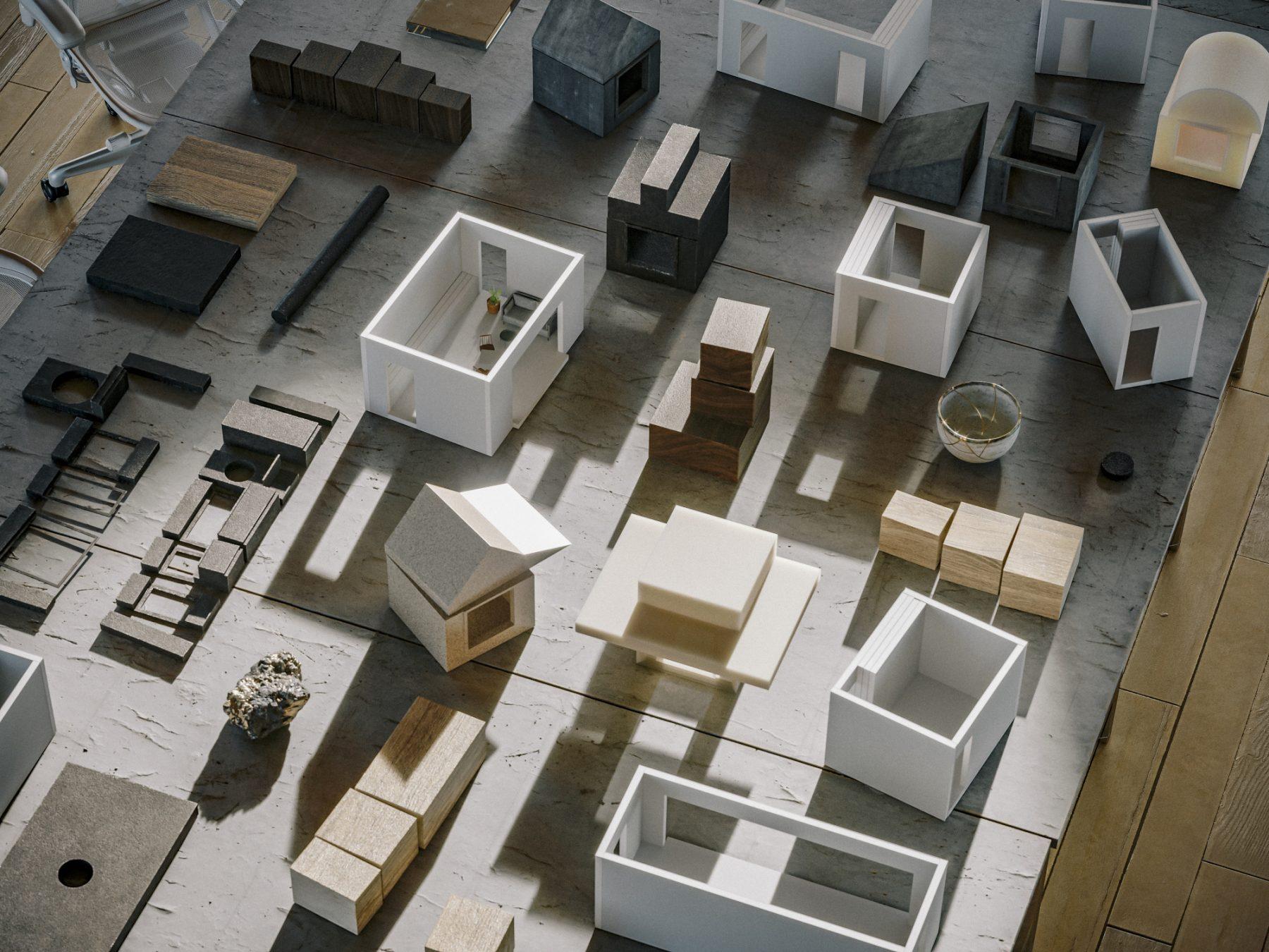 První návrhy, jak by mohly komplexy v rámci projektu Backyard vypadat