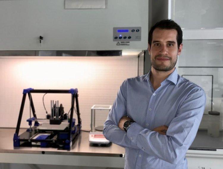 Bioinženýr Giuseppe Scionti