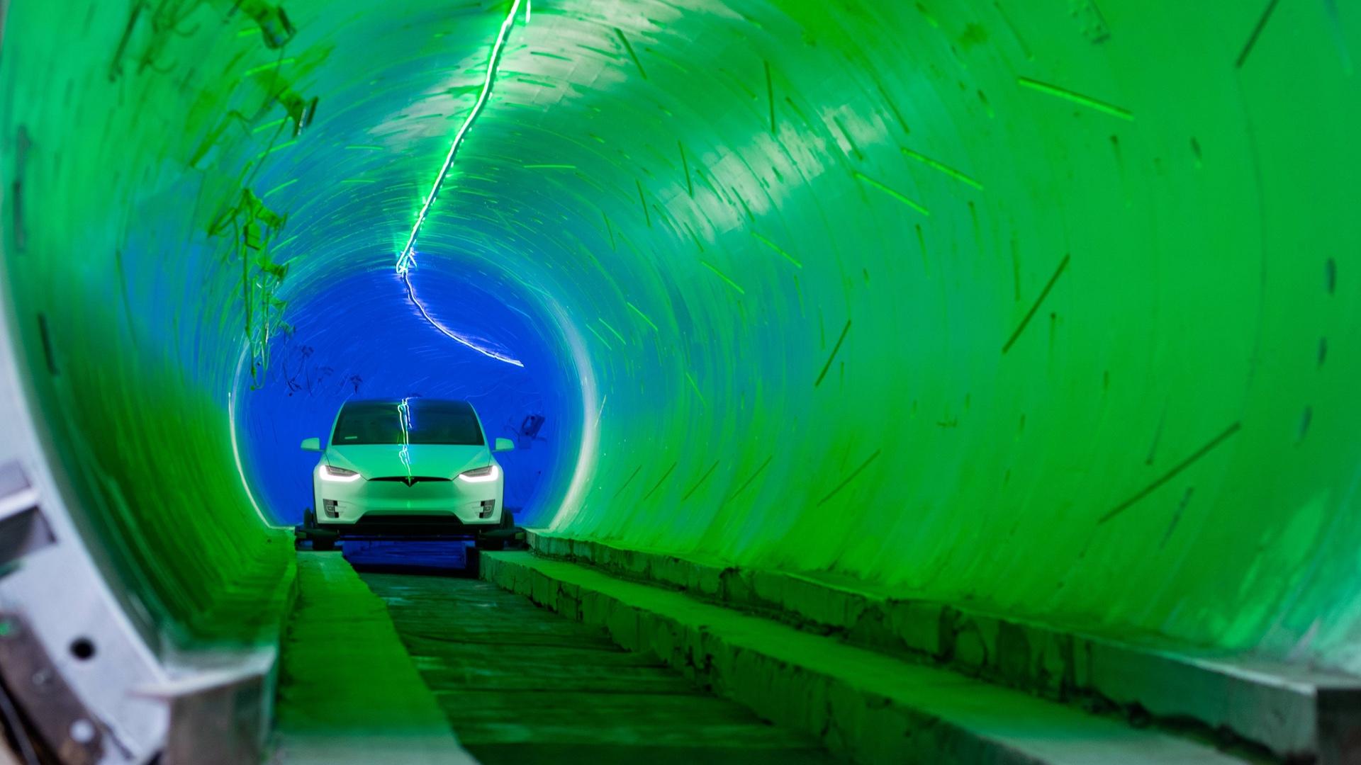 Testovací tunel je zatím plný nerovností