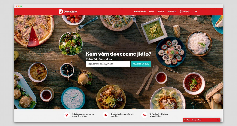 Česká služba Dáme jídlo spadající pod německé Delivery Hero