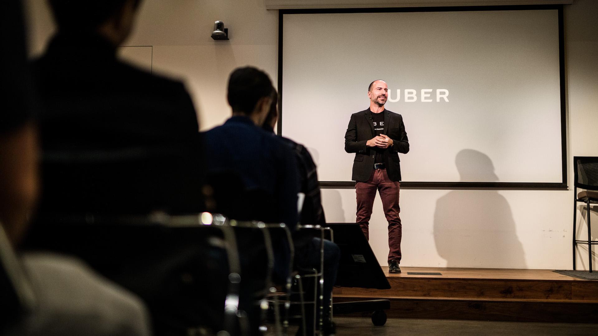 Dara Khosrowshahi, CEO Uberu