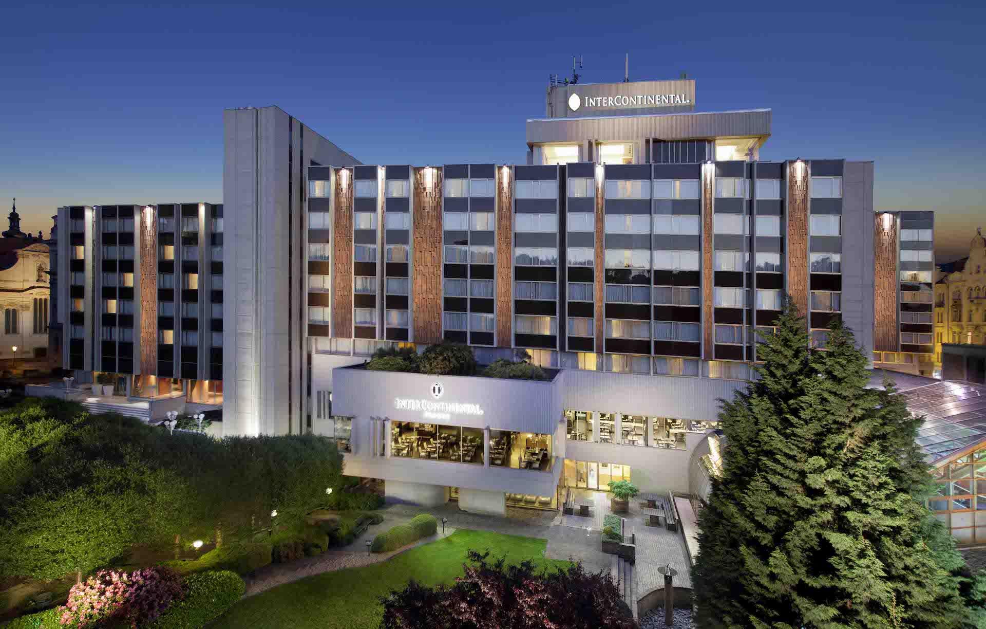 Hotel Intercontinental v Praze