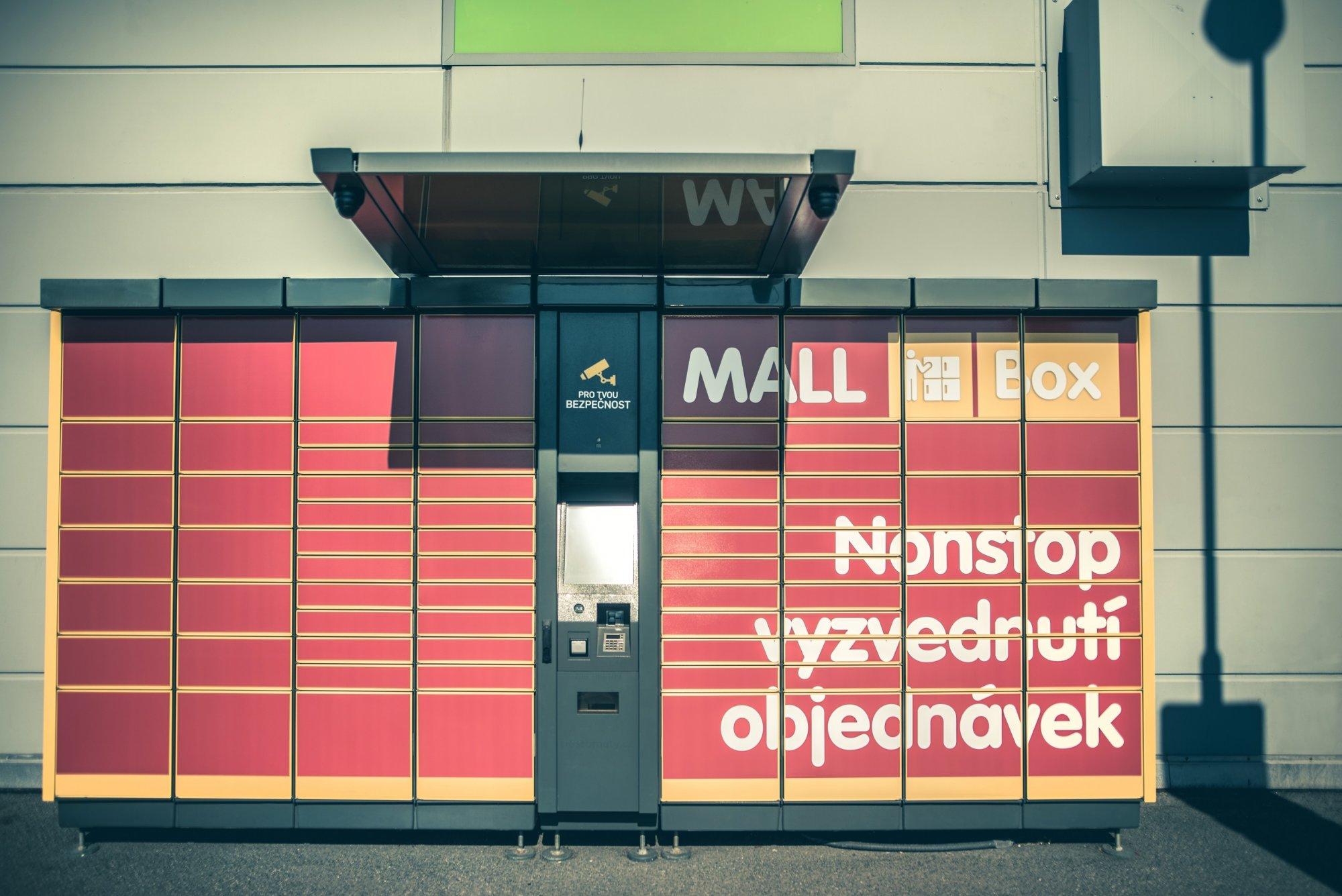 Mall.cz umí zboží doručit do svých Mall Boxů