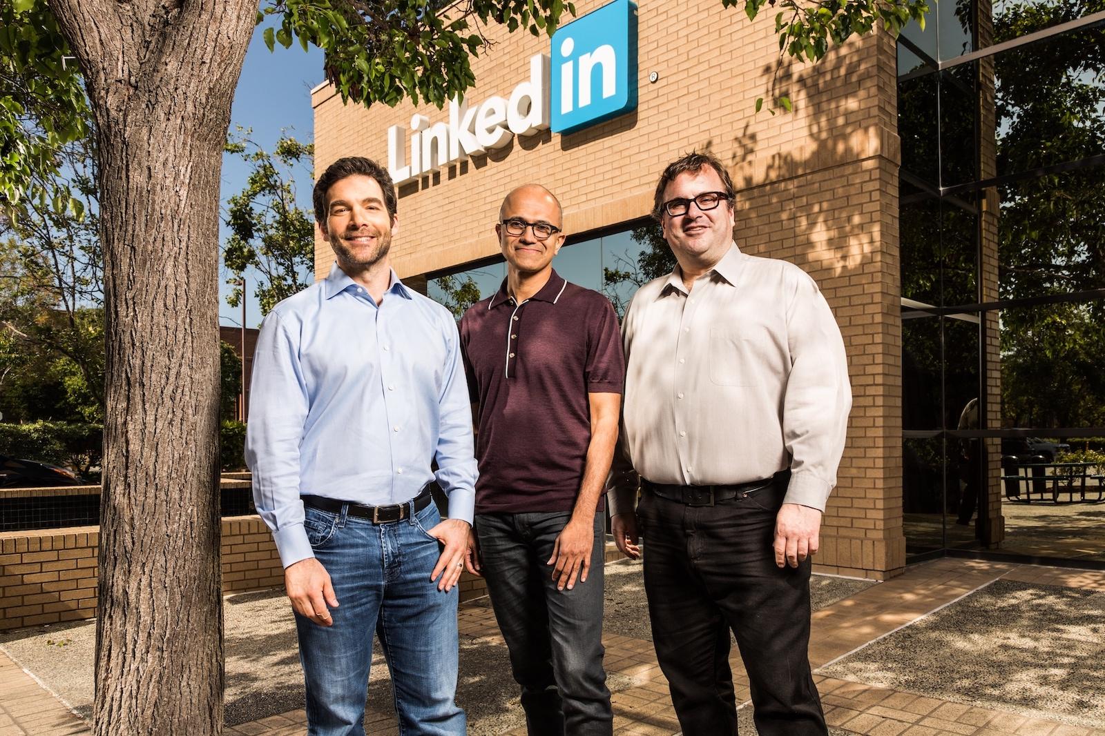 Akvizice LinkedInu byla největším nákupem Microsoftu v historii