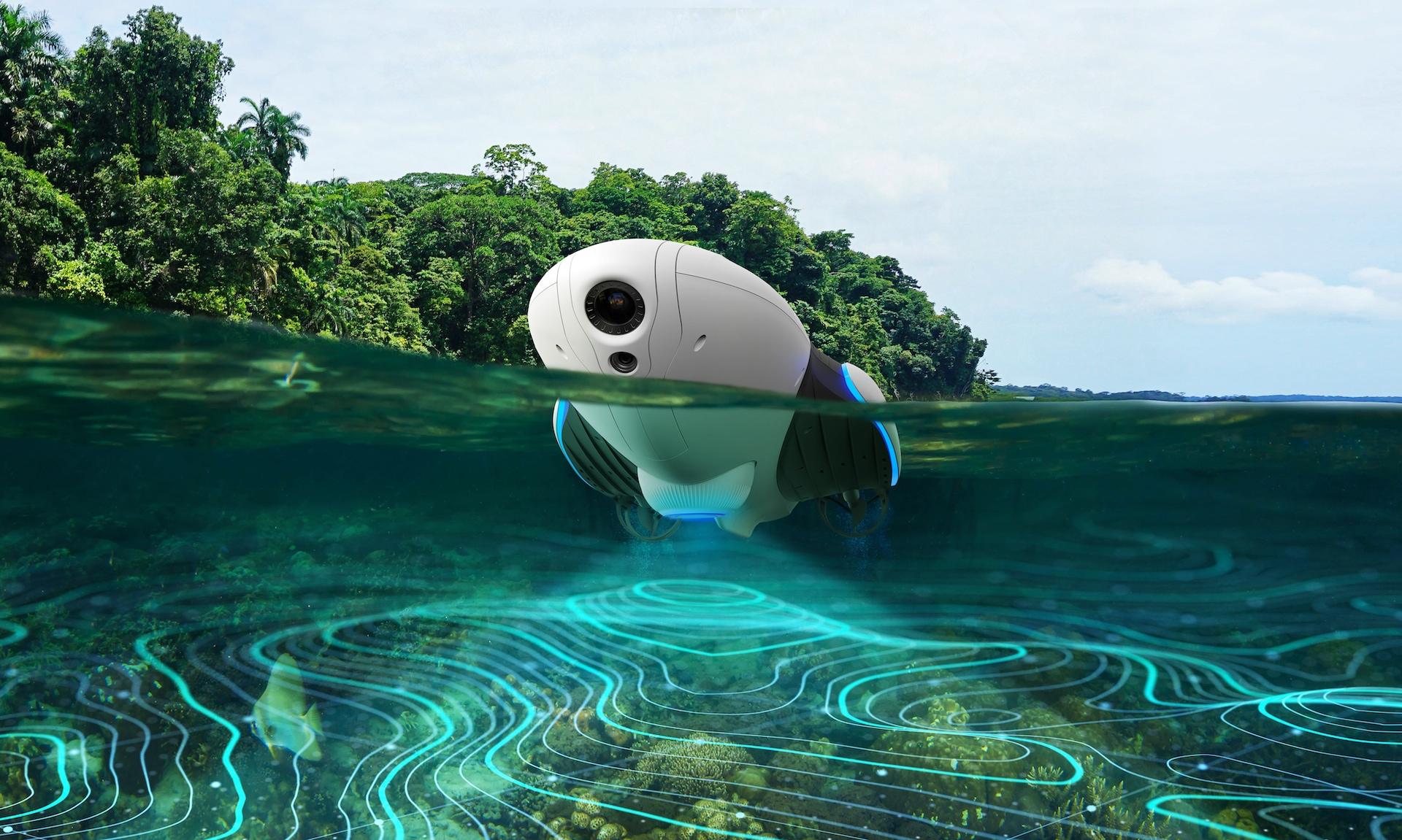 PowerDolphin funguje jako lokátor ryb