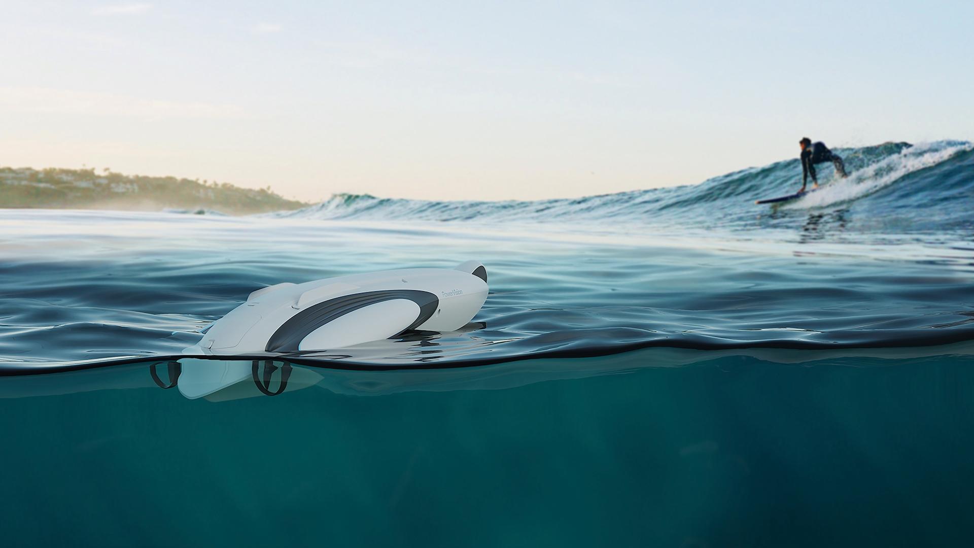 PowerDolphin umí natáčet ve 4K pod vodou i nad vodou