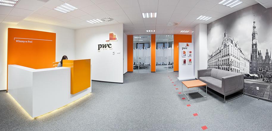 Kanceláře PwC v polské Vratislavi