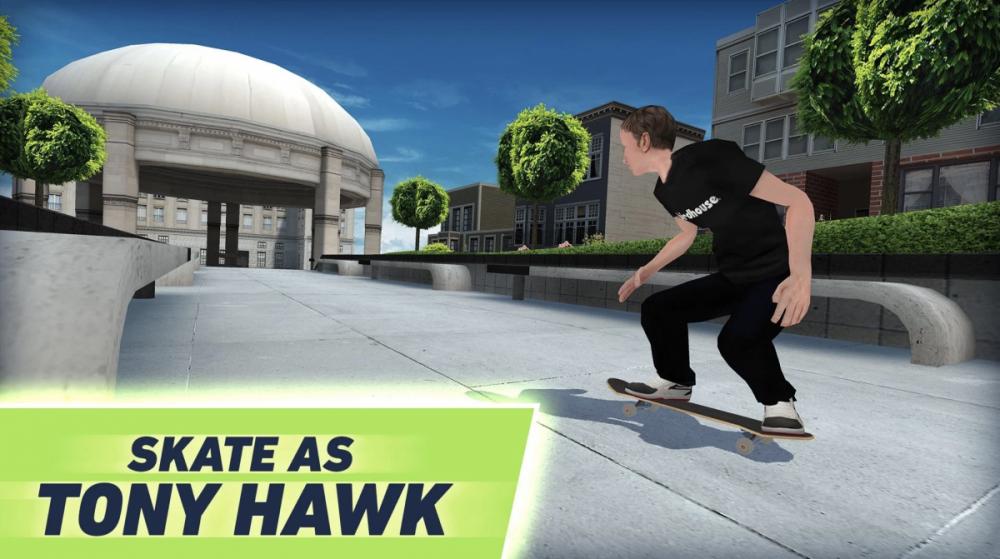 Screenshot z nové hry Tony Hawk's Skate Jam
