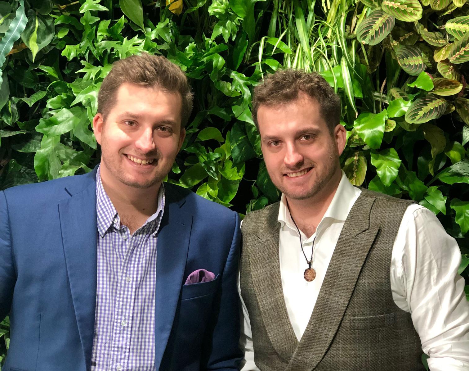 Dvojčata Martin a Jan Danešovi stojící za projektem Futurento